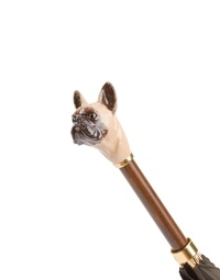 Brown French Bulldog Umbrella