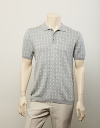 Robinson Man Botany Patterned Polo