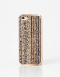 Cover Gold & Wood iPhone 6/6S
