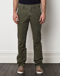 Aspesi Khaki Long Trousers