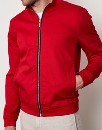 Bikkembergs - Red Zip Bomber