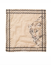 Pocket Square T6021 African Parks Leopardo